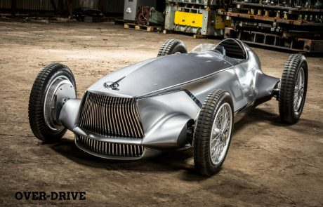 אינפיניטי מציגה מכונית מרוץ באיחור של 70 שנה