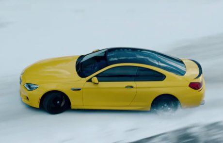 ב.מ.וו M6 נהנית בשלג