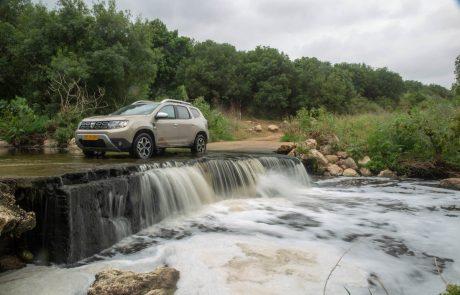 דאצ'יה דאסטר חדש: נהיגה ראשונה