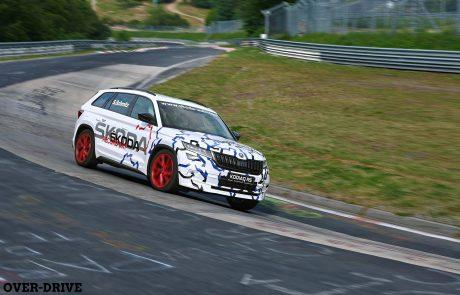סקודה קודיאק RS: שיא חדש בנורבורגרינג