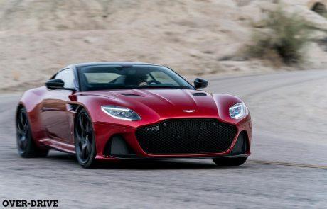אסטון-מרטין DBS סופרלג'רה – שובה של הסופר-GT
