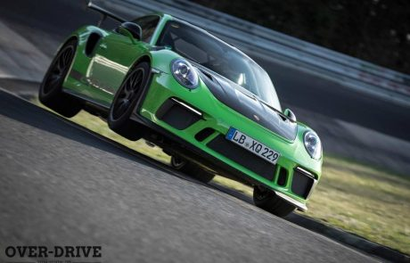 וידאו: פורשה 911 GT3 RS שורפת את הנורדשלייפה