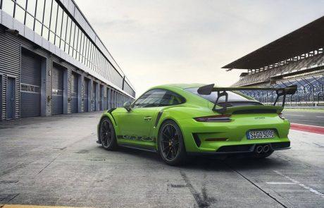 פורשה 911 GT3 RS – תמונות ראשונות