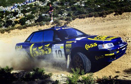למכירה: סובארו לגאסי RS מאלוף עולם